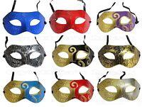 Roman Greek Men's Venetian Masquerade Mask Halloween Costume Party Mardi Gras
