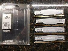 Ballistix Sport 16gb 4x4gb DDR4 2500 Quad Channel kit Ram BLS4k4G4D240FSA 16gb