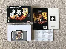 Goldeneye 007 - Nintendo 64 N64 PAL Version Boxed + Box protector CIB
