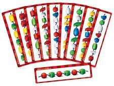 Bead Threading Activity Cards 10p Maths Games Teacher Resources School Kids