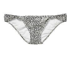 Victoria's Secret FOREVER SEXY Black White  Low-rise Bikini Bottom Sz S NIP