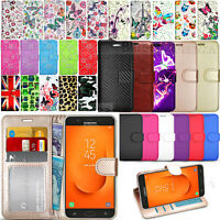 For Samsung Galaxy J7 Prime 2 (2018) G116 Wallet Leather Case Flip Cover +Guard