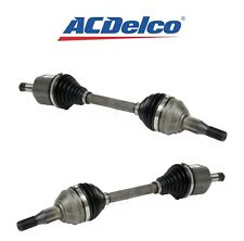 Pair Set of Front Left and Right CV Axle Shafts ACDelco GM Original Equipment