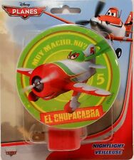 Night Light DISNEY PLANES - EL CHUPACABRA Children's Room Hallway Bedroom S3