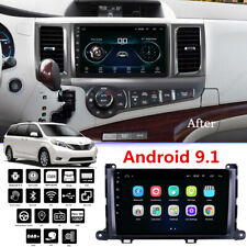 For Toyota Sienna 2011-2014 9'' Android 9.1 Car Stereo Radio GPS Navi MP5 2+32G