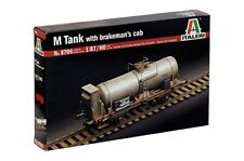 Italeri 8706 M Tank car with Brakeman's Cab 1 87