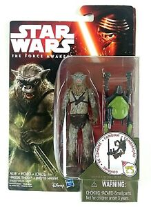 """Star Wars The Force Awakens Brute Hassk Thug 3.75"""" Figure Combinable 2015 Sealed"""