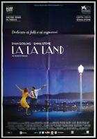 "LA LA LAND Original Movie Poster 39x55"" 2Sh Italian CHAZELLE GOSLING STONE OSCAR"