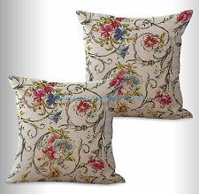 US SELLER-2pcs retro vintage floral cushion cover decorative pillow covers