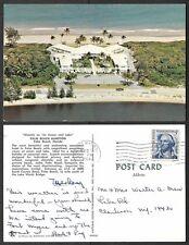 1968 Florida Postcard - Palm Beach Hampton, Aerial View