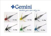 3 x Gemini Breakout Sinker Sea Fishing Lead Weights All sizes