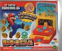 Epoch New Super Mario Bros Wii Lucky Coin Jr. From Japan