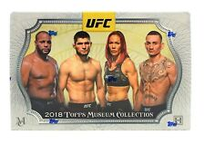 2018 Topps UFC Museum Collection Factory Sealed Hobby Box