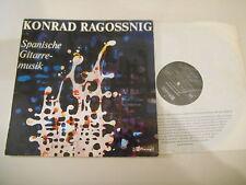LP Klassik Konrad Ragossnig - Spanische Gitarrenmusik (15 Titel) CLAVES CH