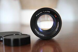 Carl Zeiss Planar 50mm f/1.4 T* Contax Yashica mount AEJ C/Y lens