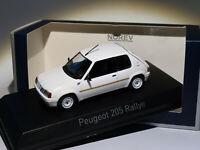 Peugeot 205 RALLYE phase1 de 1988  au 1/43 de NOREV