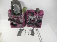 COMPLETE VINTAGE MASTERS OF THE UNIVERSE SNAKE MOUNTAIN PLAYSET MATTEL MOTU 1984