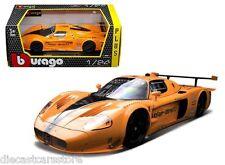 BBURAGO MASERATI MC 12 ORANGE 1/24 DIECAST CAR MODEL 18-21078