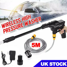 More details for electric cordless pressure washer water high power jet wash car garden cleaner
