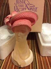 Pink Frost Collectible Figurine Just The Right Style by Raine #27302 Willitts