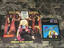 Dee Snider Rare Signed Promo Vinyl Record Twisted Sister Under The Blade + Decal