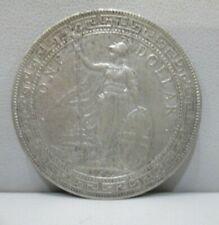 1930 Silver GREAT BRITAIN TRADE DOLLAR KM-T5 *