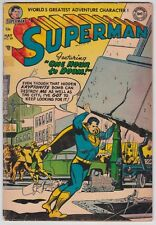 Superman #89 G- 1.8 Lois Lane Perry White Wayne Boring Art 1954!