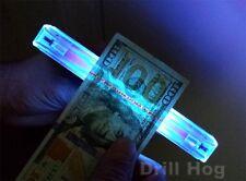UV Black Light Counterfeit Bill Detector DNA Forensic Evidence Fluorescent Light