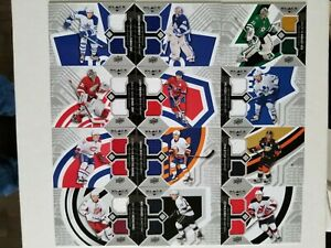 2014-15 Black Diamond Jersey Lot (12) 14-15