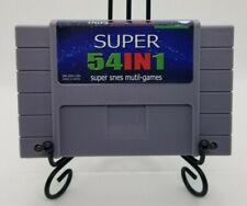 Super 54 in 1 SNES Multi-Cart, 54 games on one Super Nintendo Cartridge!