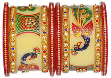 Indian Bollywood Jewelry Bangles Set Peacock Traditional Wedding Bangles Ethnic