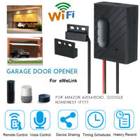 Smart APP WiFi Switch Garage Door Remote/Voice Control Car Garage Door Opener