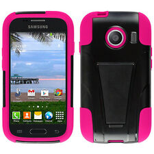 Samsung Galaxy Ace Style S765C Hybrid Phone Case with Stand+Screen Protector