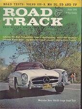 Road & Track June 1961 Mercedes Benz 300-SL Coupe 080817nonjhe