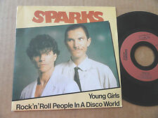 "DISQUE 45T DE SPARKS  "" YOUNG GIRLS """