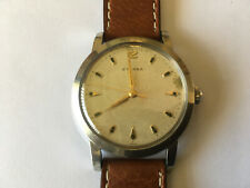 ETERNA Calibre 852 vintage oversized 36.61mm Jumbo Watch.