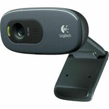 Logitech C270 HD Video Calling Webcam - Black