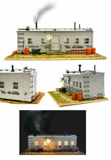 Usa Trains G Scale R1940 Roadside Shanty w/Smoking Stack and Lights