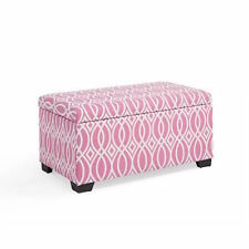 Kids Storage Bench Bin Ottoman Toy Chest Box Organizer Fabric Playroom Bedroom