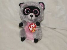 Ty Beanie Boos ~ ROCCO the Raccoon (6 Inch) NEW 2014 Plush