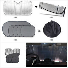 6 Pcs Car SUV Front/Side/Rear Windshield Sunshade UV-Proof Protector Film Covers