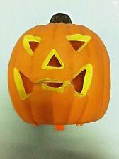 zucca di media grandezza Halloween horror carnevale plastica con luce