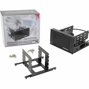 """Evercool 5.25"""" Drive Bay to 3.5 HDD or 2.5 HDD Cooling Box (Free Priority Mail)"""