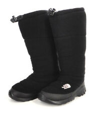 "THE NORTH FACE Womens Black Fleece Heat Seeker Insulated Boots Size 7 15"" Tall"