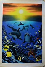 WYLAND OCEAN CALLING GICLEE ON CANVAS SIGNED #129/750 W/COA BEAUTIFUL!