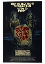 The Return of the Living Dead - Linnea Quigley - A4 Laminated Mini Movie Poster