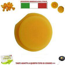 TASTO TASTINO GOMMINO GIALO CHIAVE 1 GUSCIO COVER TELECOMANDO SMART FORTWO 450