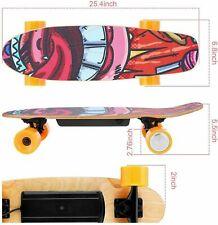WOOKRAYS 25 Inch Electric Skateboard Standard Skateboard+Wireless Remote e 07