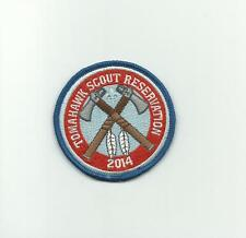 SCOUT BSA 2014 TOMAHAWK RESERVATION CAMP PATCH NORTHERN STAR COUNCIL MN WI BADGE