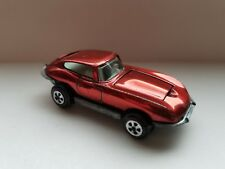 VINTAGE TOPPER JOHNNY LIGHTNING SEALED DOOR CUSTOM XKE JAGUAR SHINY RED Redline